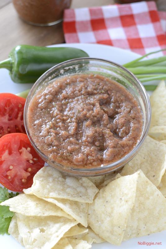 Homemade Blender Salsa | Salsa Recipes