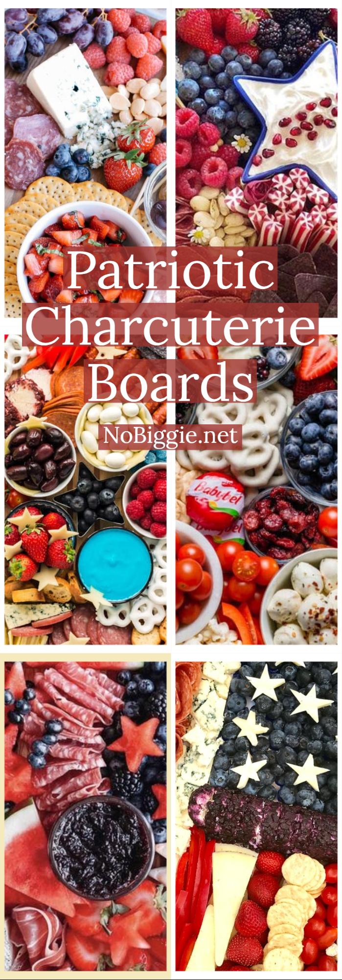 Patriotic Charcuterie Boards