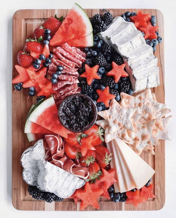 Cheese Board | Patriotic Charcuterie Boards