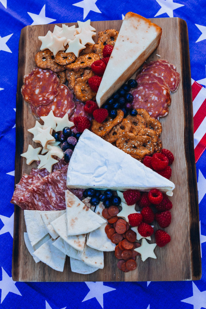 Patriotic Cheese Platter | Patriotic Charcuterie Boards