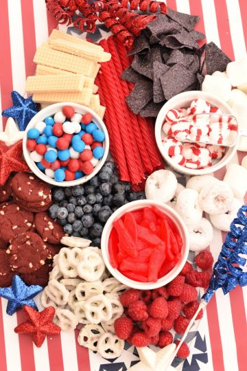 Patriotic Charcuterie Boards