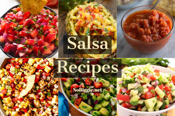 Salsa Recipes | NoBiggie.net