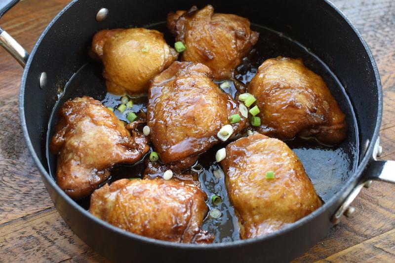 Shoyu Chicken Thighs | NoBiggie.net