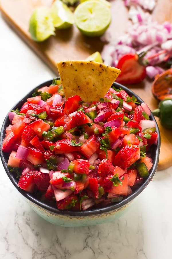 Strawberry Jalapeno Salsa | Salsa Recipes