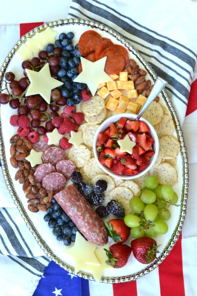 Summer Charcuterie Board | Patriotic Charcuterie Boards