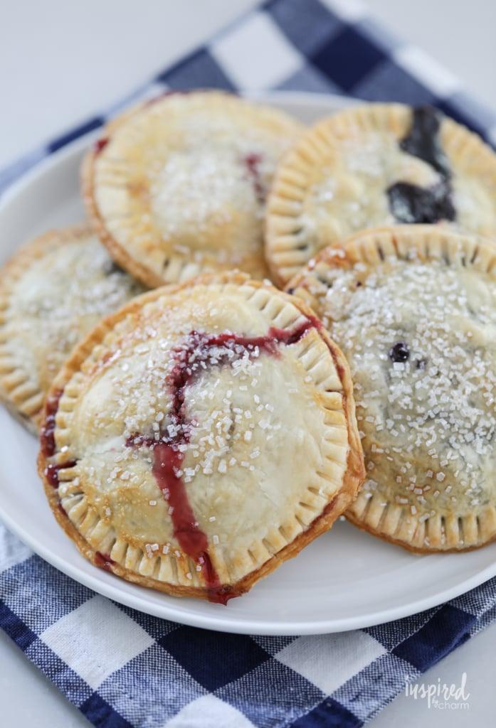 Air Fryer Berry Hand Pies | 25+ Air Fryer Desserts