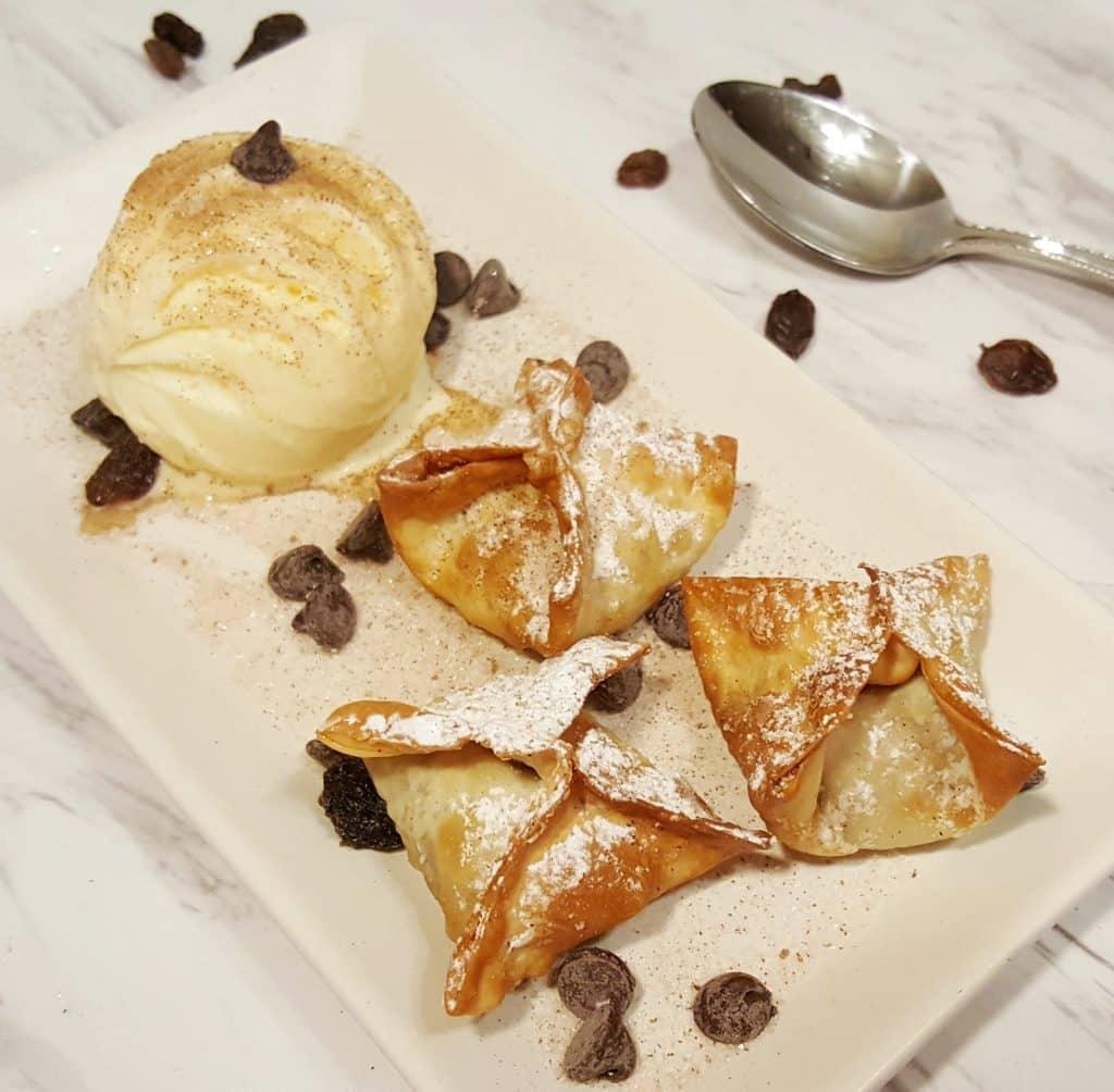 Air Fryer Peanut Butter Banana Dessert | 25+ Air Fryer Desserts