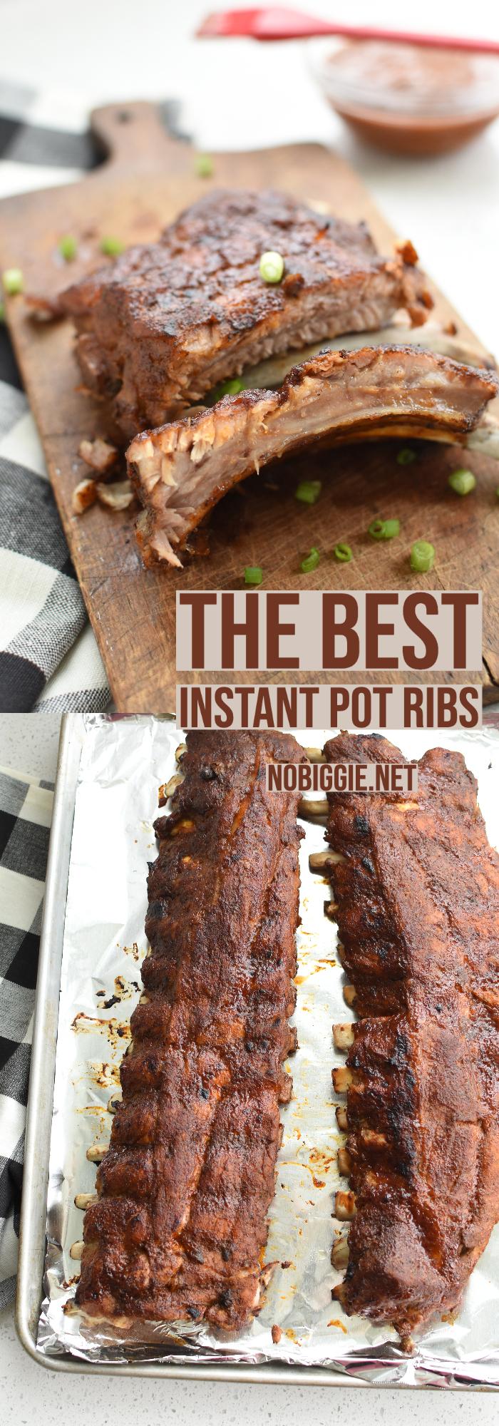 Instant Pot Pressure Cooker Ribs   NoBiggie.net