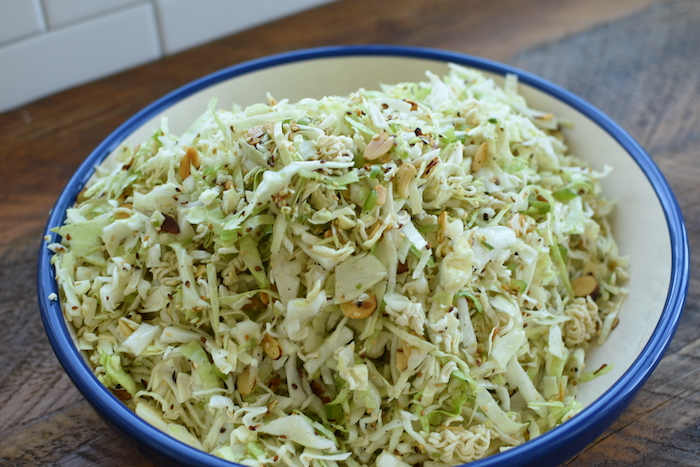 ramen cabbage salad | NoBiggie.net