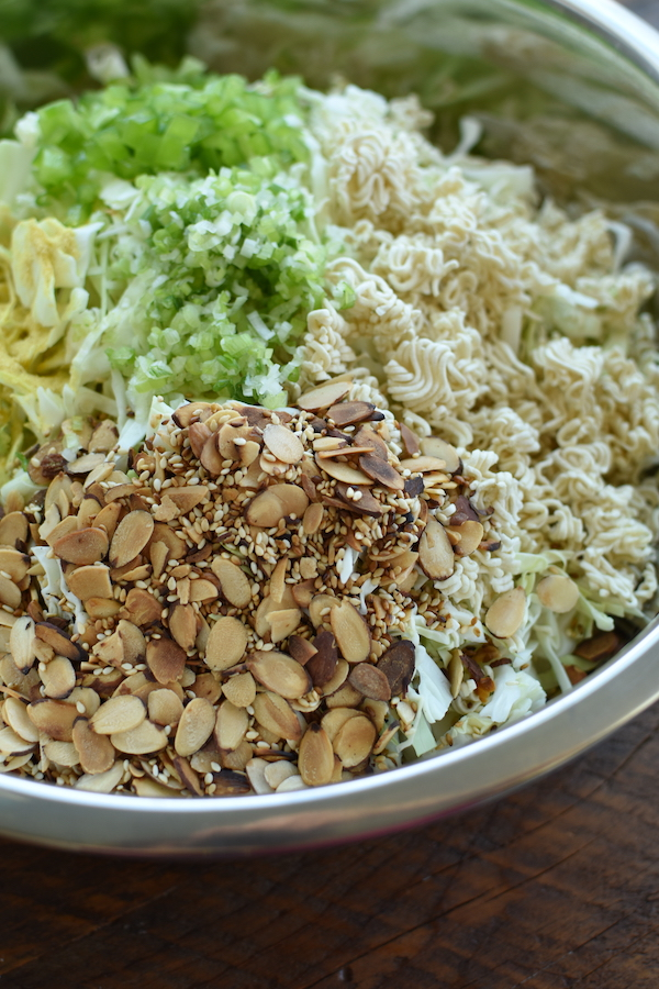 cabbage ramen salad | NoBiggie.net