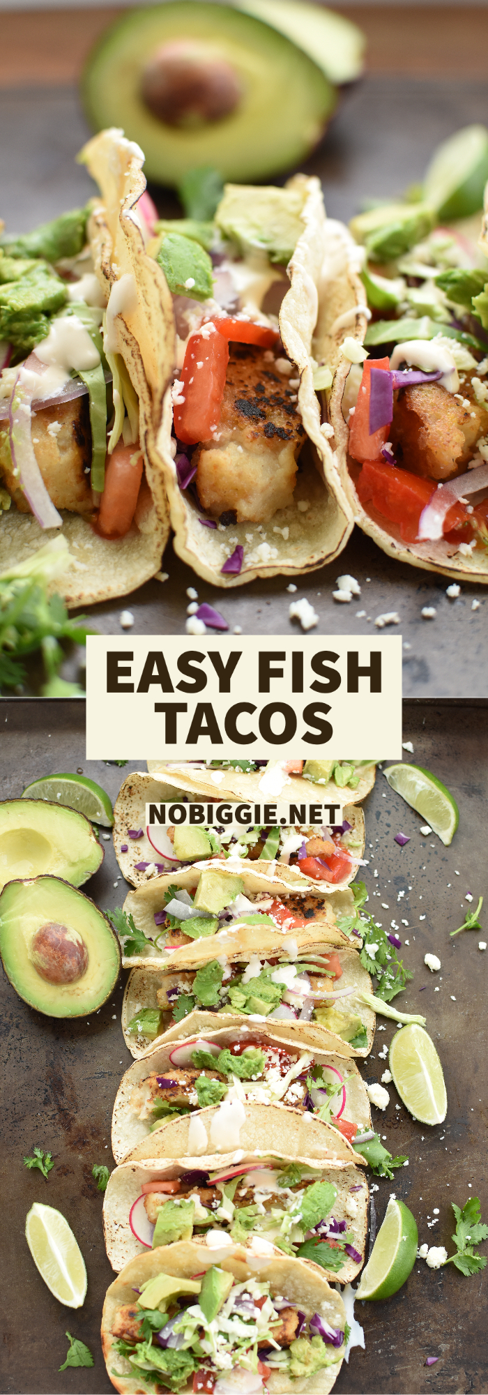 easy fish stick tacos | NoBiggie.net