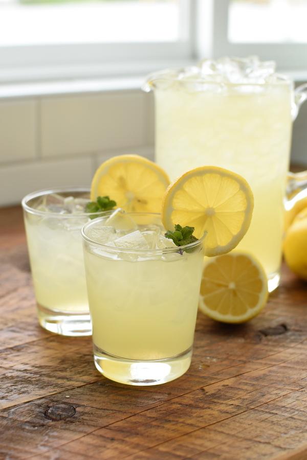 lemonade with real lemon juice | NoBiggie.net