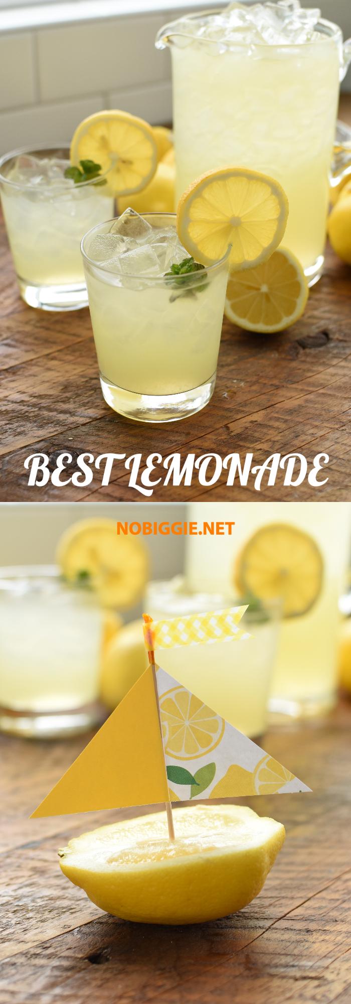 Best Lemonade recipe | NoBiggie.net