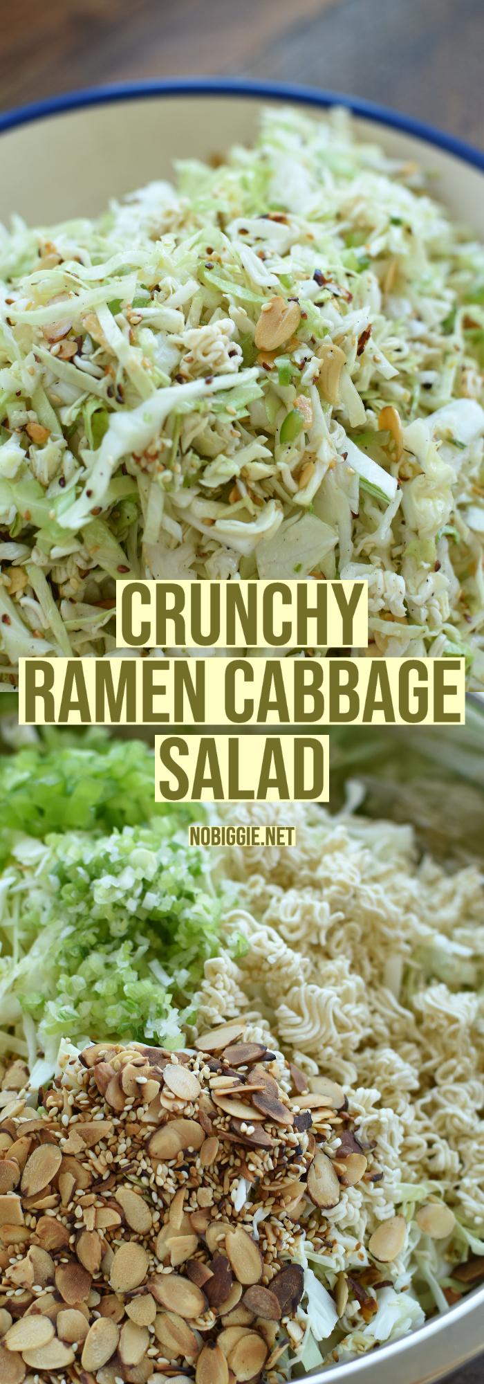 crunchy ramen cabbage salad | NoBiggie.net