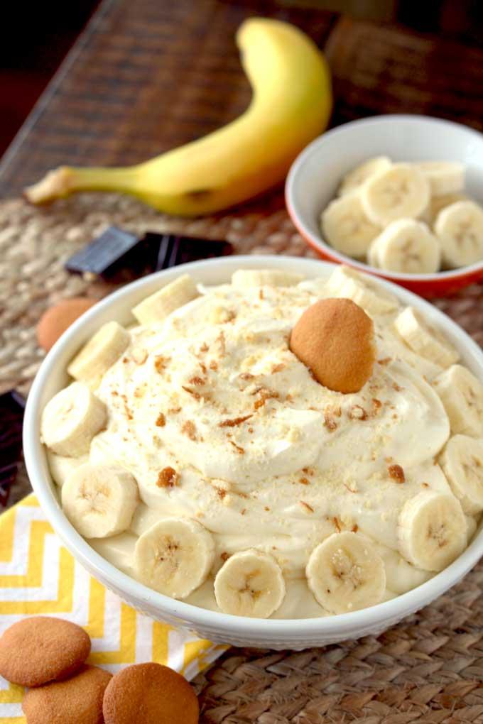 Banana Cream Pie Dip | Sweet Dip Recipes