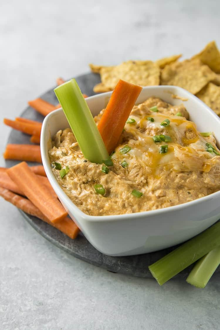 Buffalo Chicken Dip | 25+ Savory Dip Recipes