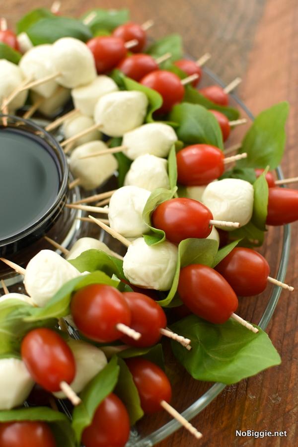 Caprese Wreath | Bridal Shower Finger Foods