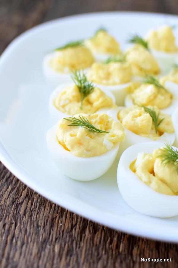 Classic Deviled Eggs | Bridal Shower Finger Foods