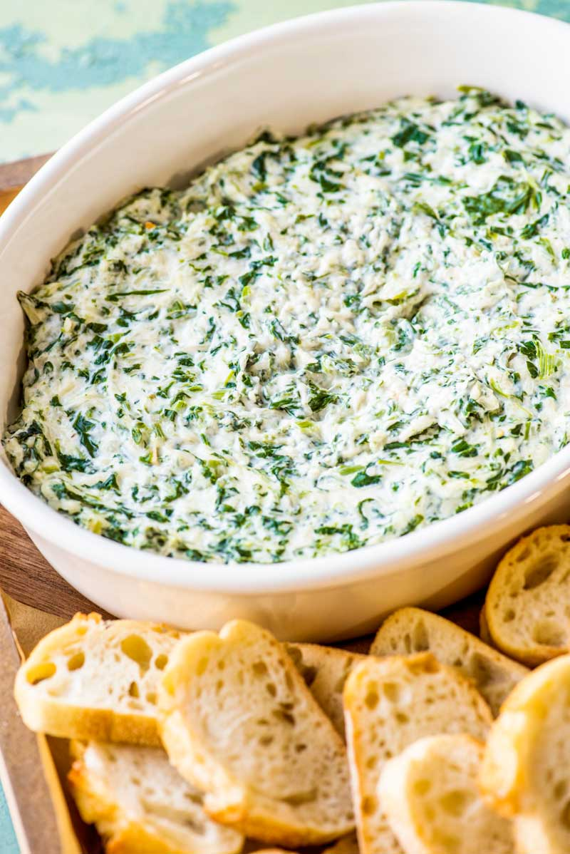 Creamy Spinach Dip | 25+ Savory Dip Recipes