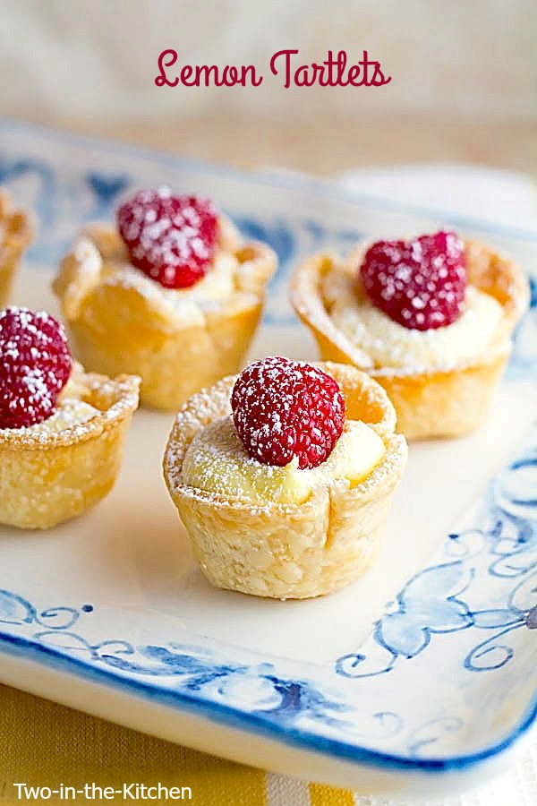 Lemon Tartlets | Sweet Treats for Showers