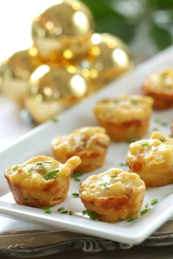 Mac & Cheese Bites | Bridal Shower Finger Foods