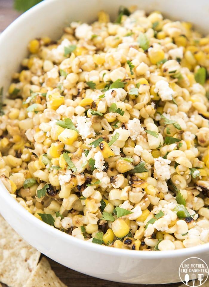 Mexican Street Corn Dip | 25+ Savory Dip Recipes