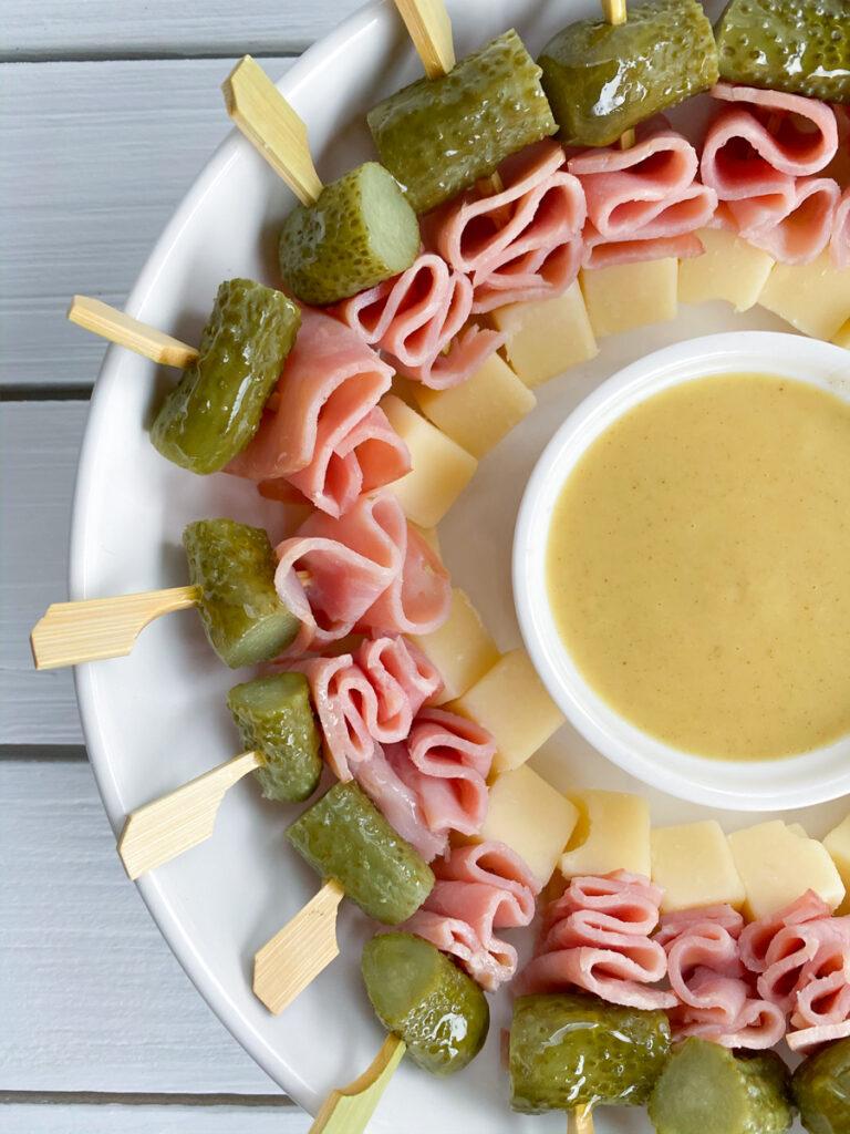 Mini Cubano Sandwich Skewers | Bridal Shower Finger Foods