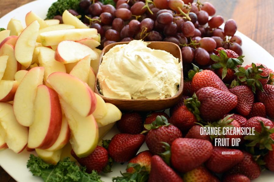 Orange Creamsicle Fruit Dip | Sweet Dip Recipes