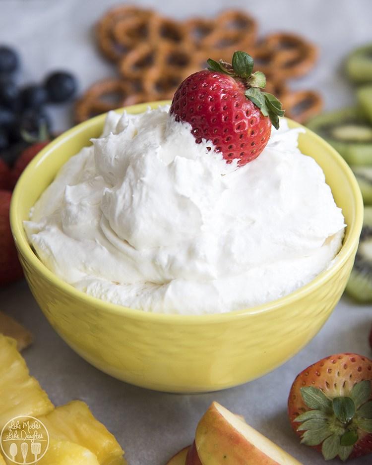 Pina Colada Fruit Dip | Sweet Dip Recipes