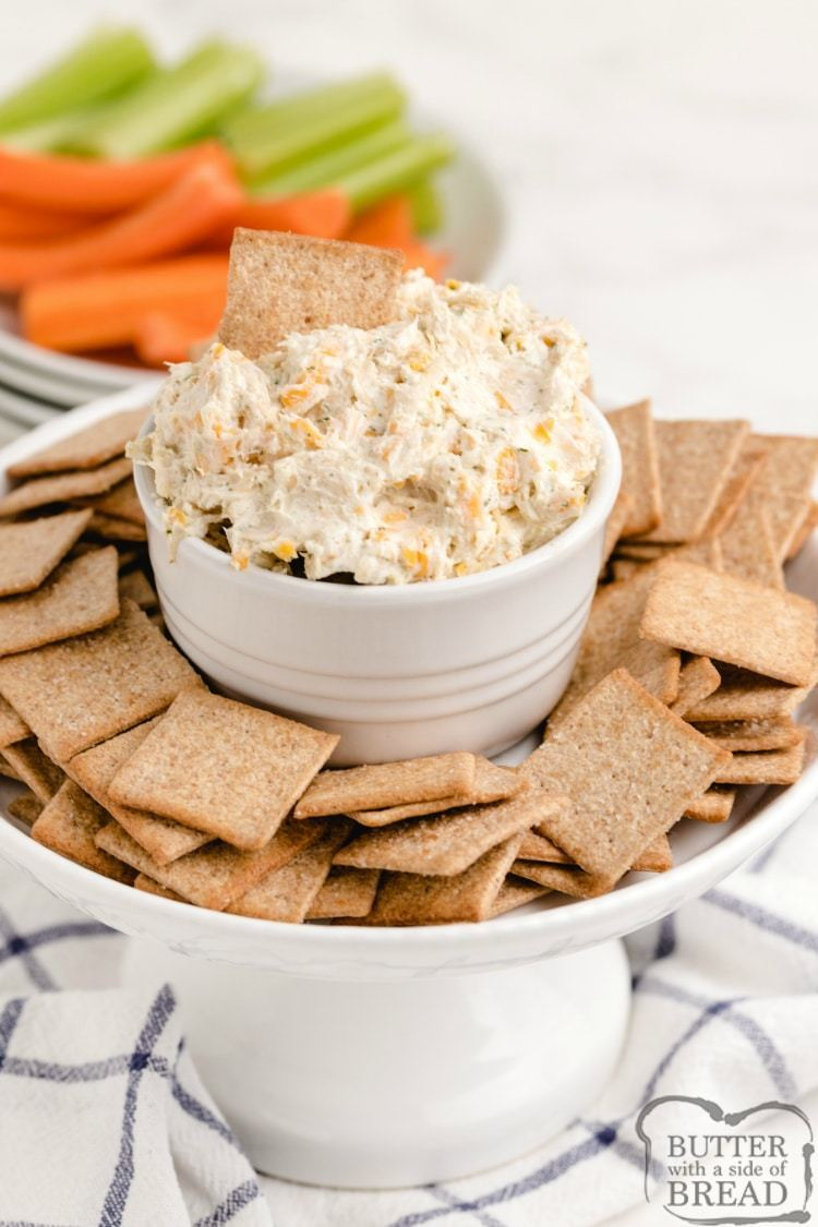 Ranch Chicken Cheese Dip | 25+ Savory Dip Recipes