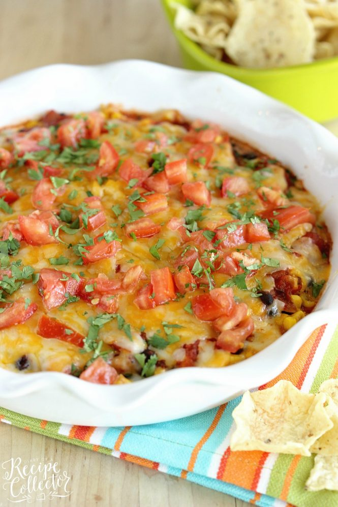 Southwestern Bean and Cheese Dip | 25+ Savory Dip Recipes