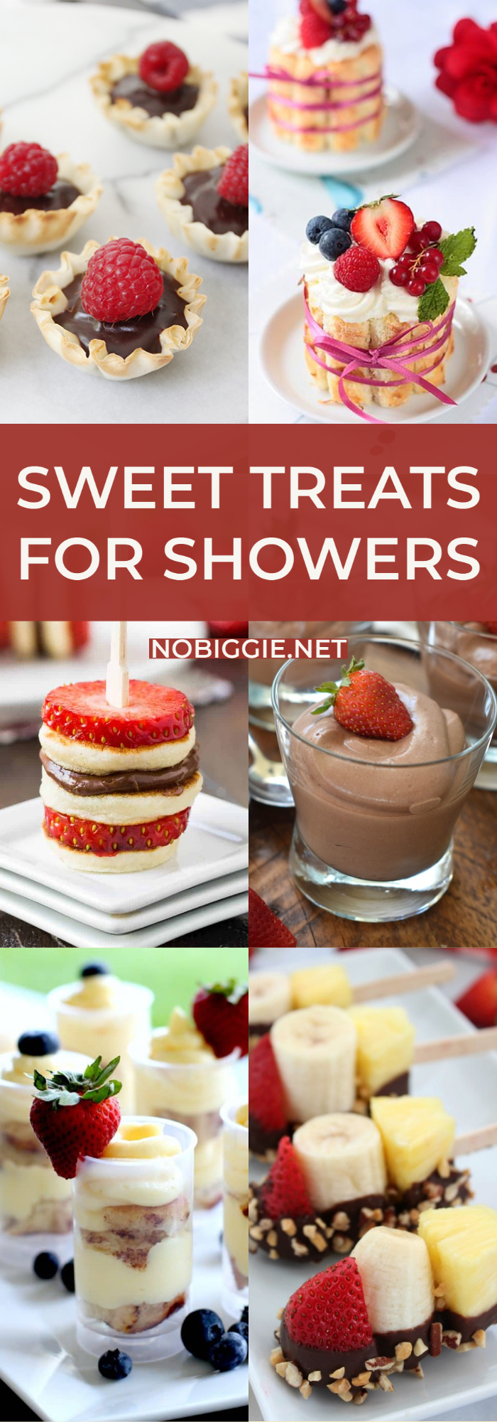 Sweet Treats for Showers | NoBiggie.net