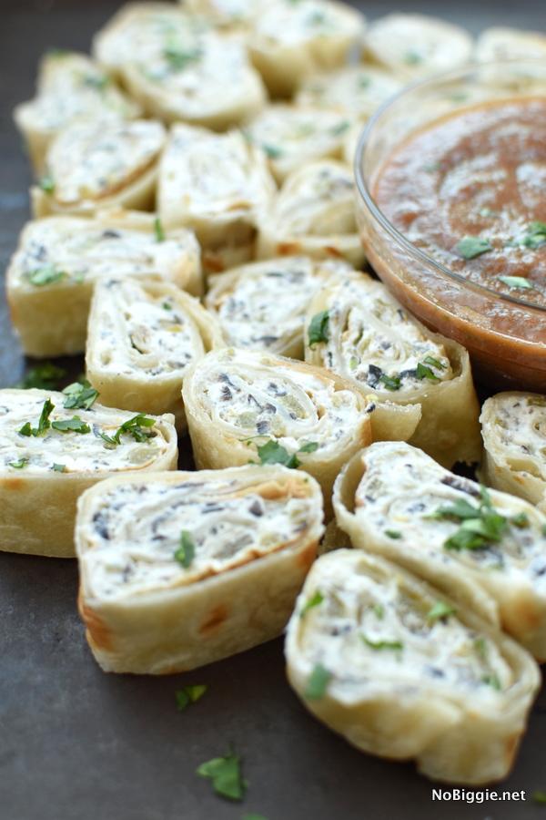 Tortilla Rollups | Bridal Shower Finger Foods