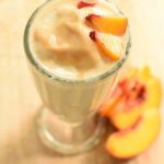 fresh peach milkshake recipe | NoBiggie.net