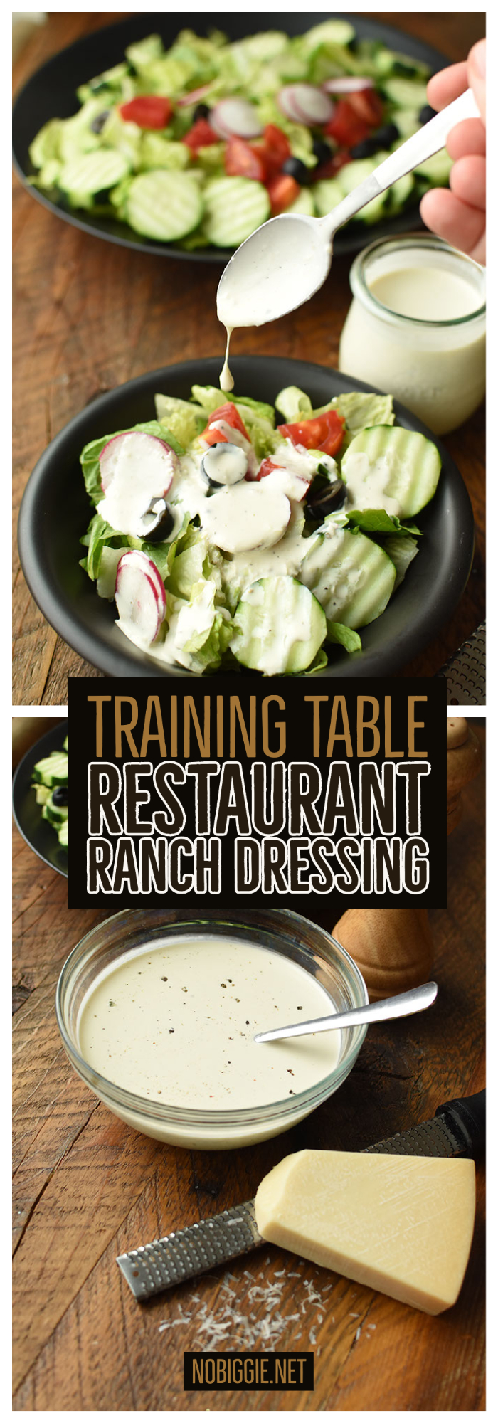 Training Table Restaurant Ranch Dressing Nobiggie