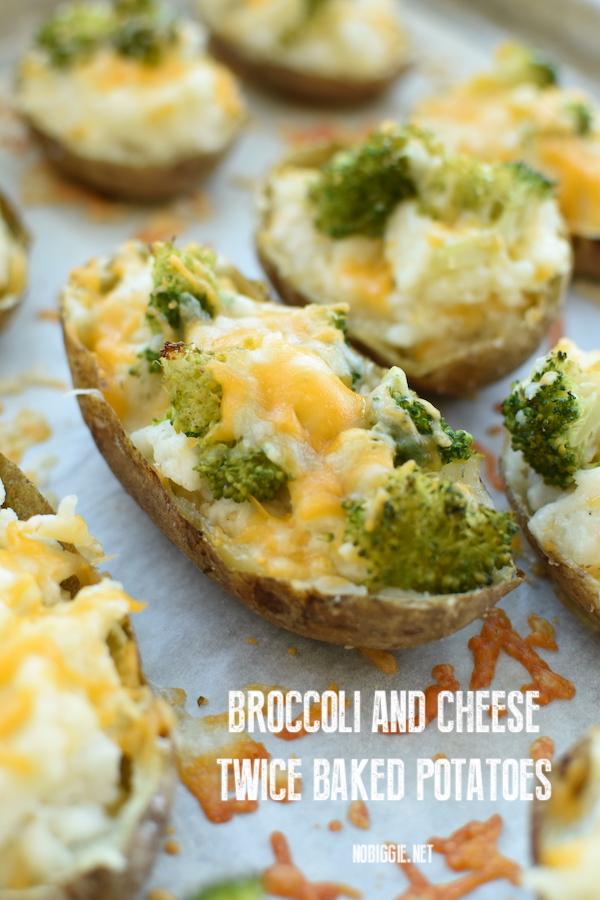 broccoli and cheese twice baked potatoes | NoBiggie.net