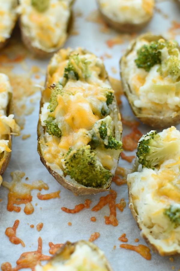 broccoli n cheese twice baked potatoes | NoBiggie.net