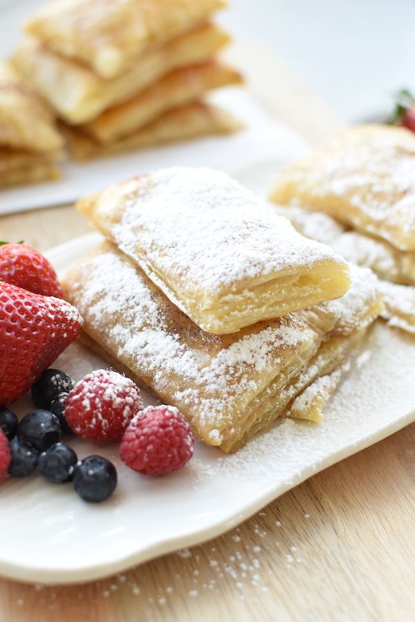 puff pastry easy french toast | NoBiggie.net