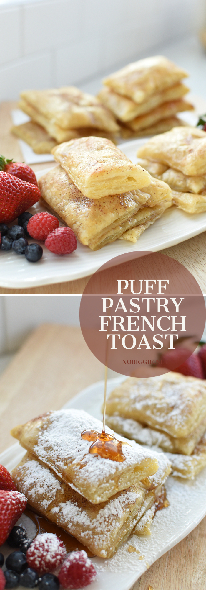 puff pastry french toast | NoBiggie.net