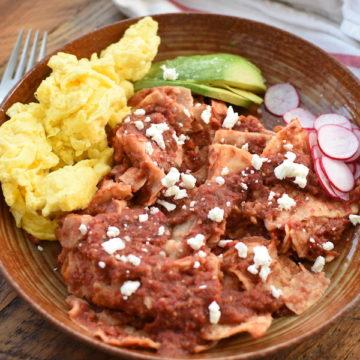 chilaquiles rojos | NoBiggie.net