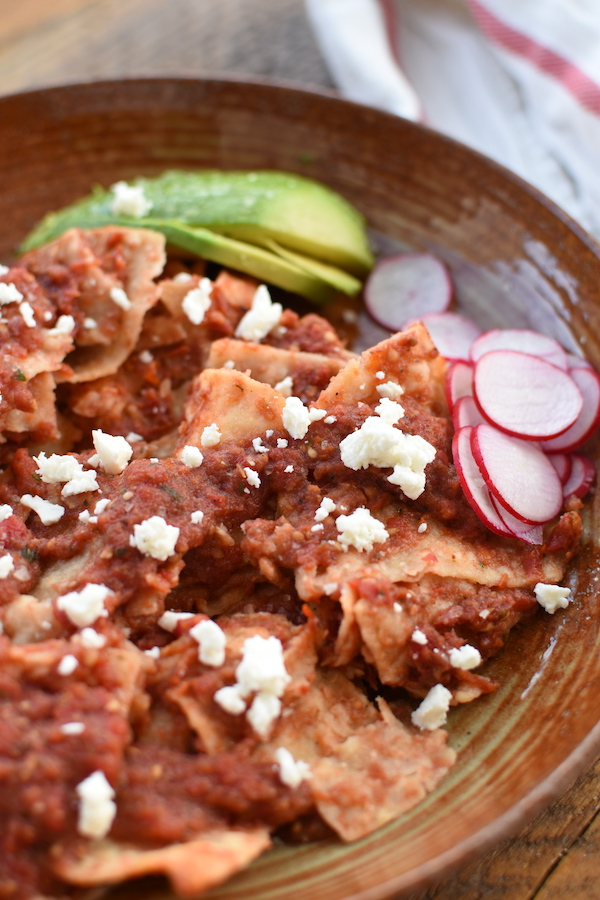 chilaquiles rojos recipe | NoBiggie.net