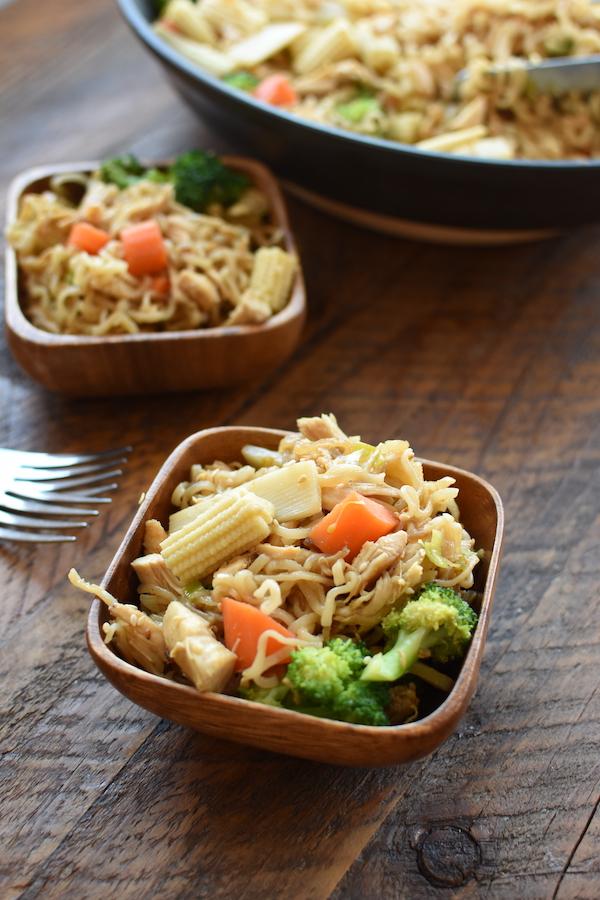 ramen noodles stir fry | NoBiggie.net