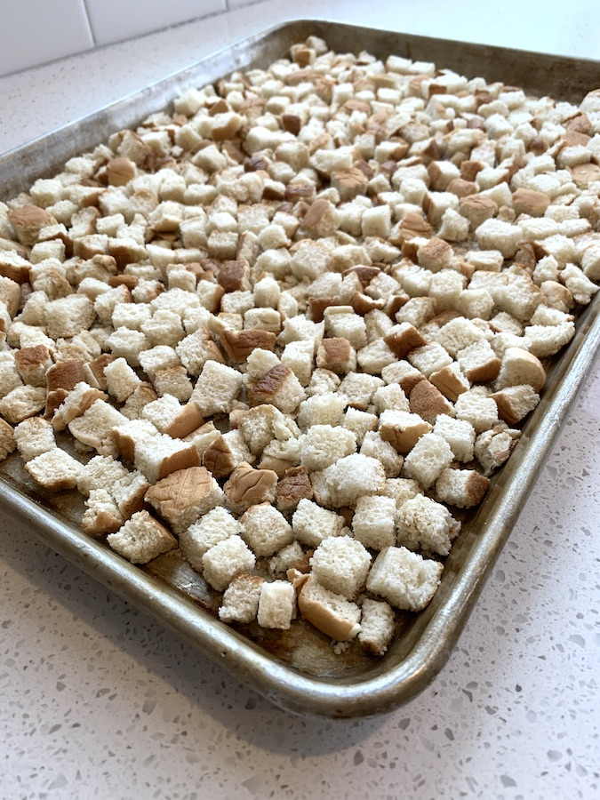 bread cubes for stuffing | NoBiggie.net