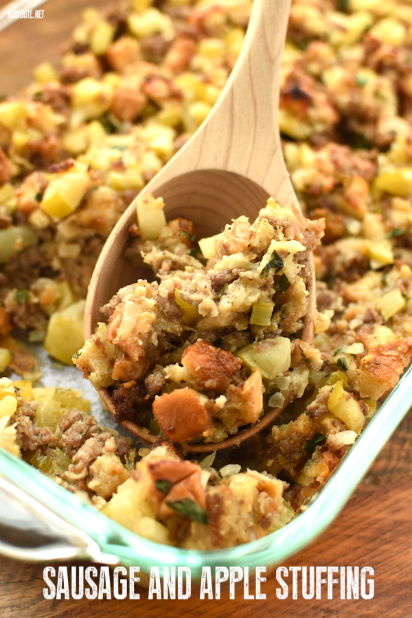 sausage and apple stuffing | NoBiggie.net