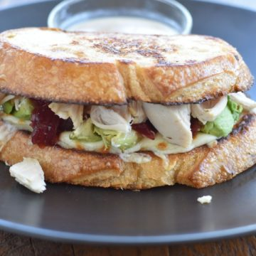 thanksgiving grilled cheese | NoBiggie.net
