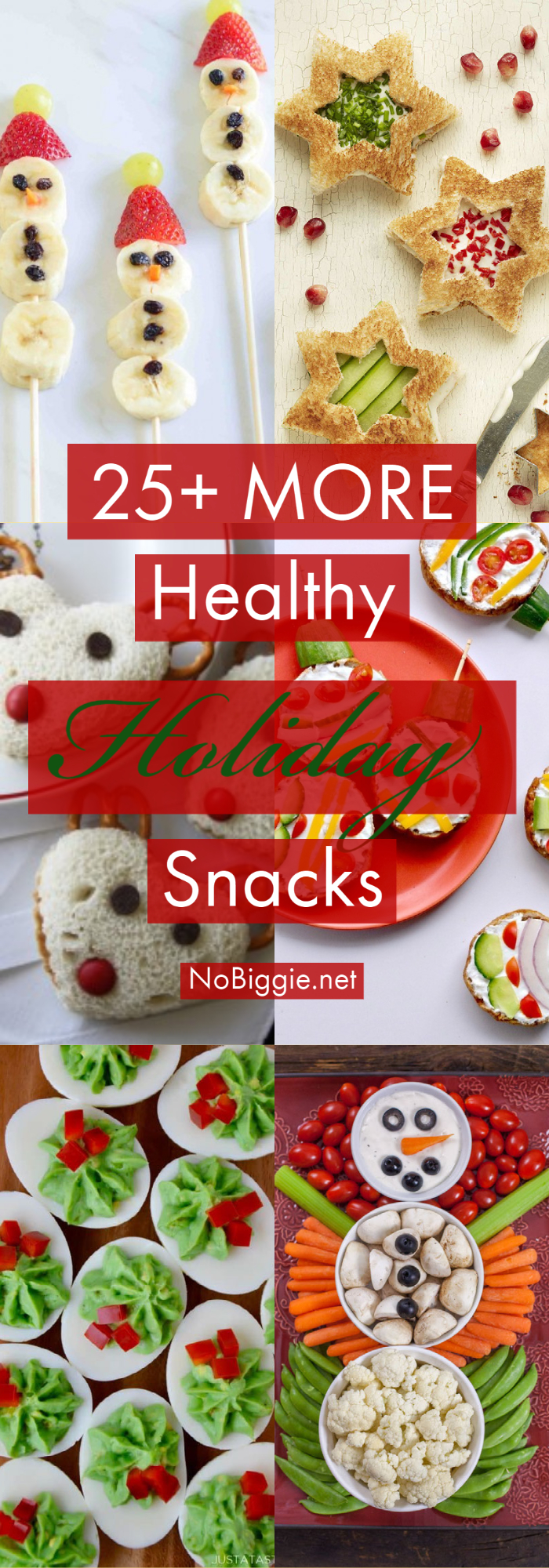 25+ MORE Healthy Holiday Snacks