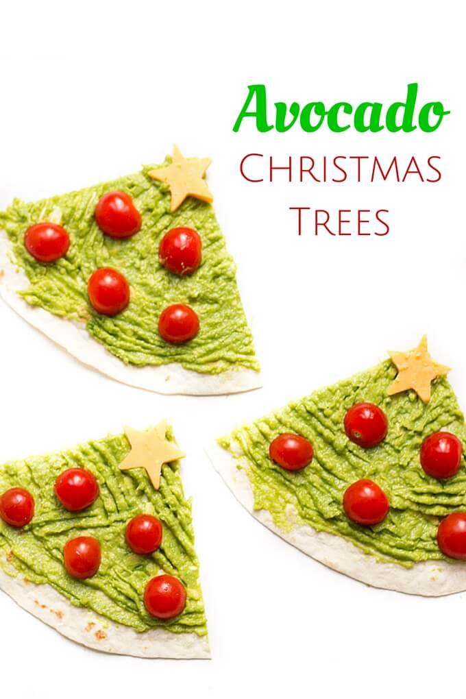 Avocado Christmas Trees   NoBiggie.net