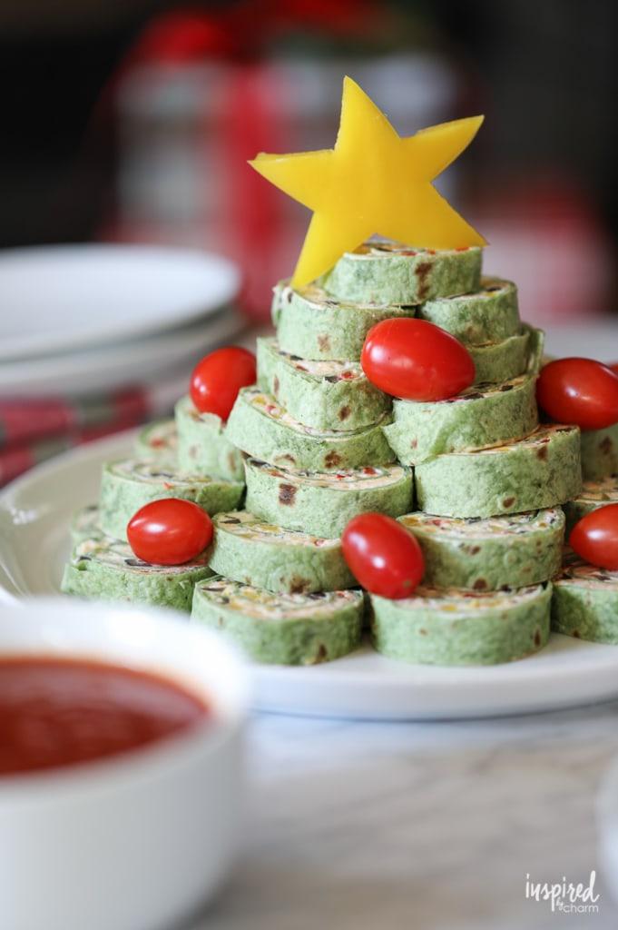 Christmas Tortilla Roll Up   NoBiggie.net