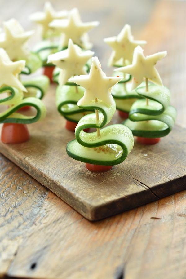 Christmas Veggie Skewers | NoBiggie.net