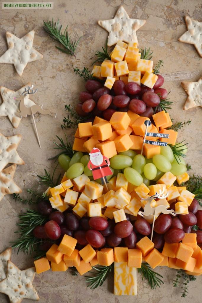 Christmas tree cheese board   NoBiggie.net